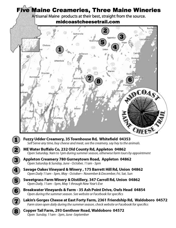 Midcoast-Cheese-Trail-Map