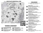 Midcoast Maine Cheese Trail Map 2019