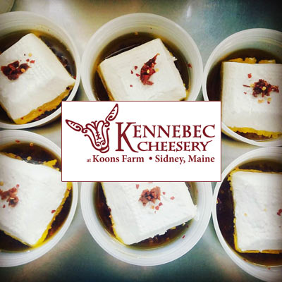Kennebec Cheesery at Koons Farm - Sidney Maine